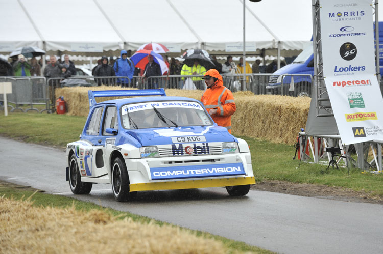 Group B Rally display set to shine at London Classic Car Show