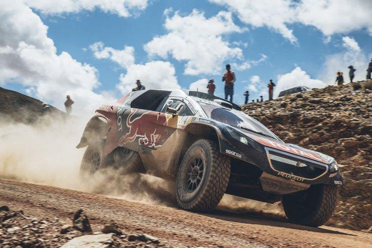 Sebastien Loeb - Flavien Duhamel/Red Bull Content Pool