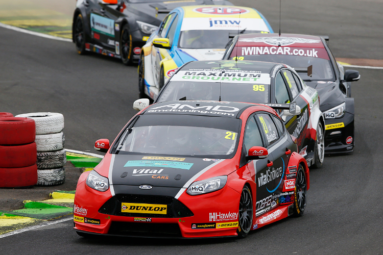 Bushell Was In The Thick Of The BTCC Action Last Season - Credit: btcc.net
