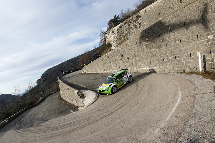 Esapekka Lappi took second in the R5 class but doesn't classify in WRC2. (Credit: Jaanus Ree/Red Bull Content Pool)