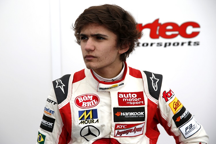 Fittipaldi steps up into Formula V8 3.5 with Fortec - The Checkered Flag