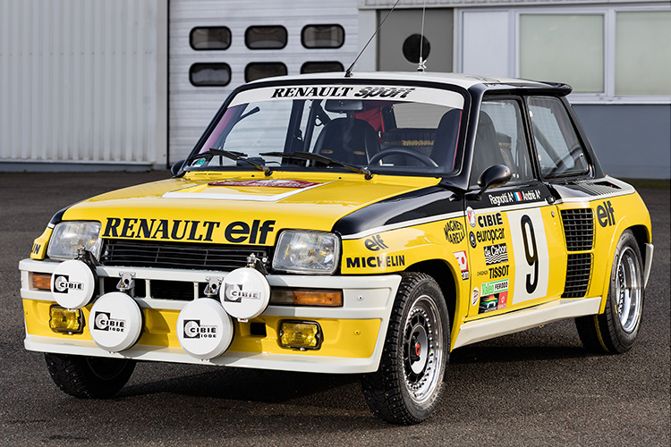 rally legend ragnotti brings monte winning renault 5 turbo to 2016 rallye monte carlo historique. Black Bedroom Furniture Sets. Home Design Ideas