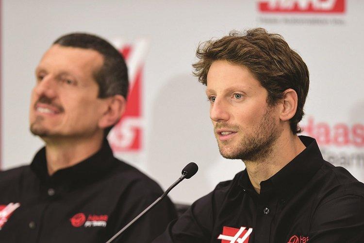 Romain Grosjean Joins Haas F1 Team