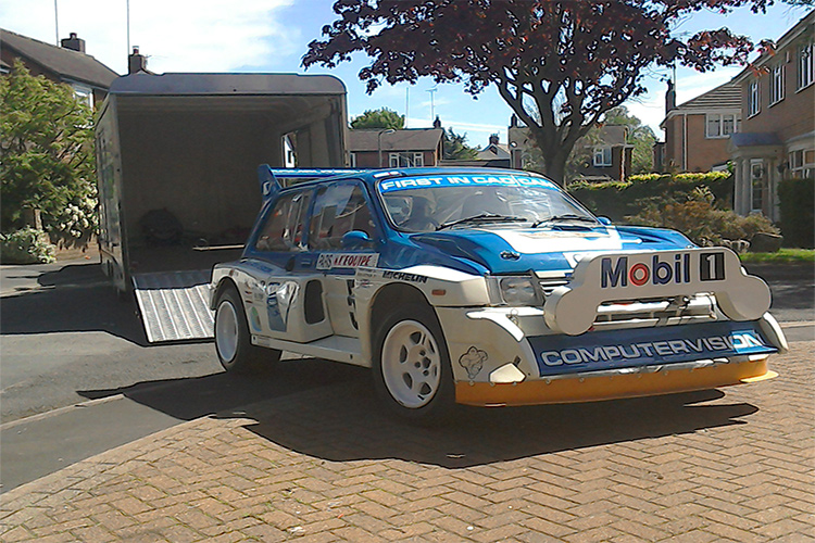 Fans will be able to get up close to Tony Pond's Metro 6R4