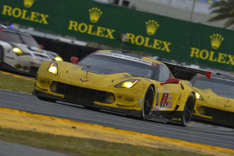 Corvette are coming to La Sarthe off a number of good results in America (Credit: IMSA)
