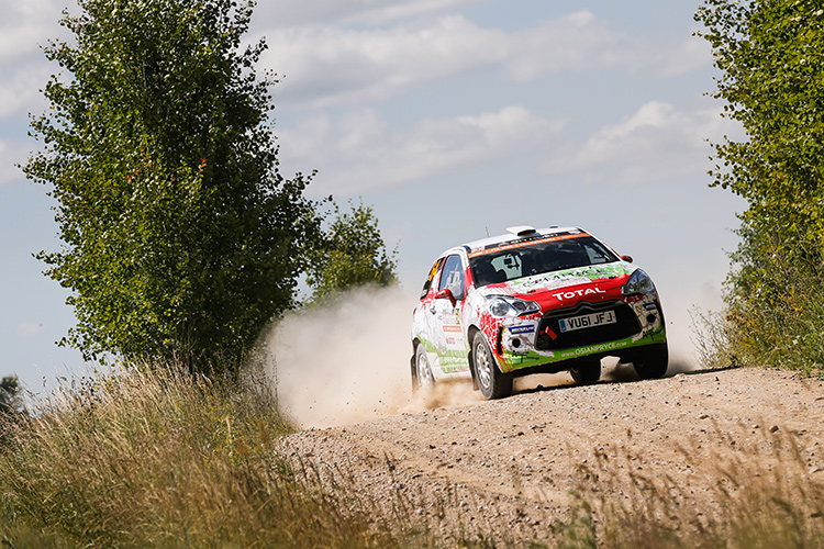 Pryce in action in Poland - Credit: Citroen Racing