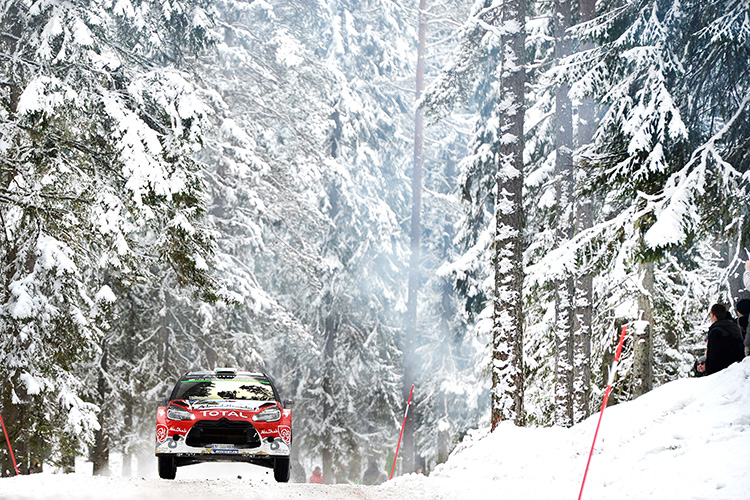 Craig Breen led the Citroen effort on his debut in WRC. (Credit: Citroen Motorsport Media)