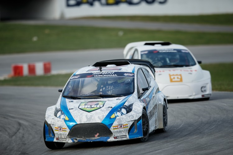 'Bilko' performed strongly on his début in Barbados last year - Credit: Larry Chen/Red Bull Global Rallycross