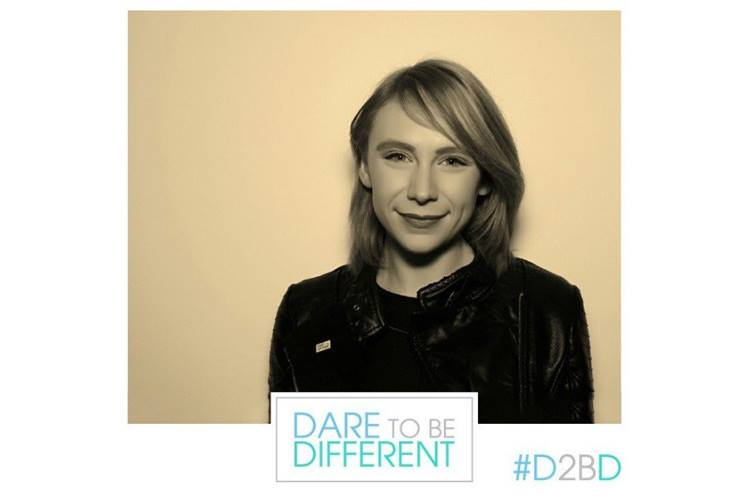 Ruth Buscombe Becomes An Ambassador For Dare To Be