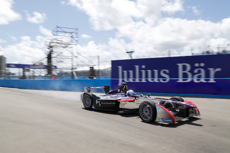 FIA Formula E Championship 2015/16. Julius Baer Punta Del Este ePrix, Punta Del Este, Uruguay. Practice Session 2. Sam Bird (GBR), DS Virgin Racing DSV-01  Punta Del Este, Uruguay, South America. Saturday 19 December 2015 Photo: Adam Warner / LAT/FE ref: Digital Image _L5R1133