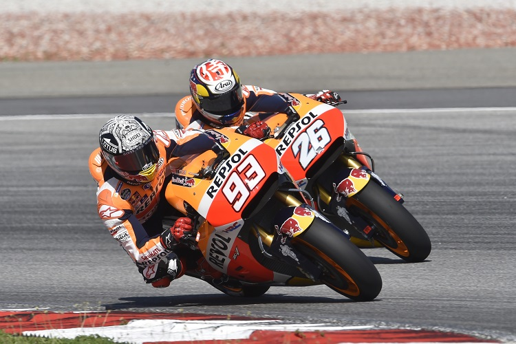 Marc Marquez & Dani Pedrosa - Photo Credit: Repsol Honda