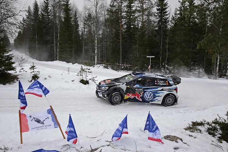 Rally Sweden In Ogiers Hands On Day World Rally Championship - Rally sweden map 2016