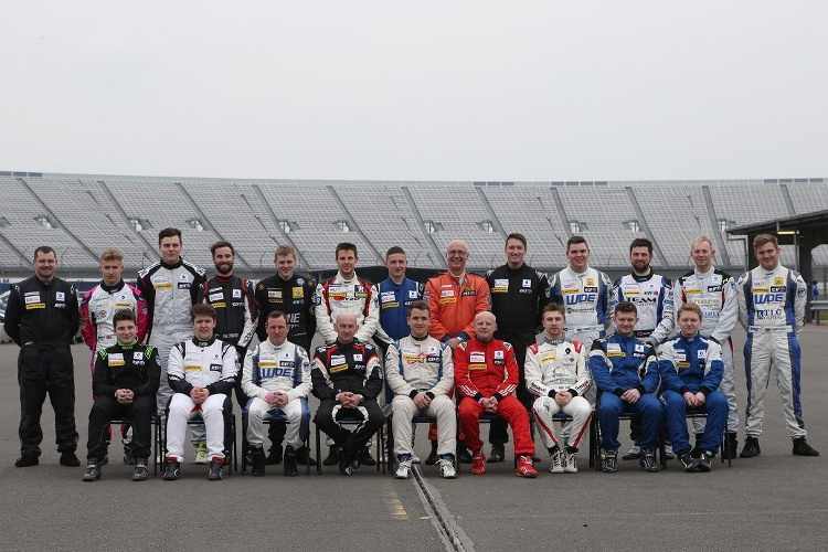The Renault UK Clio Cup Class Of 2016 - Credit: Jakob Ebrey Photography