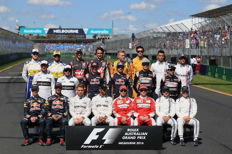 F1 Lineup