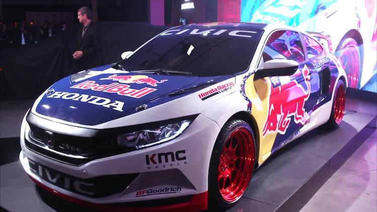 Honda Red Bull GRC