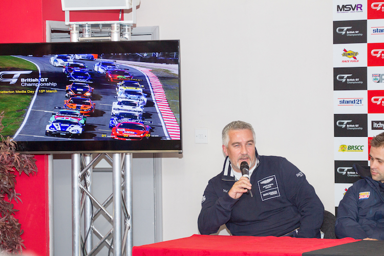 Hollywood will be developing his Britcar experience in British GT (Credit: Nick Smith/TheImageTeam.com)