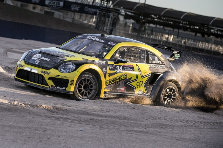 Foust has raced the highly sophisticated Volkswagen Beetle since 2014 - Credit: