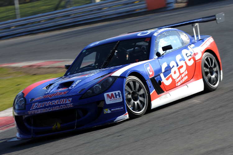 Burns Finished Second Fastest In The Media Day Test At Brands Hatch - Credit: Jakob Ebrey Photography