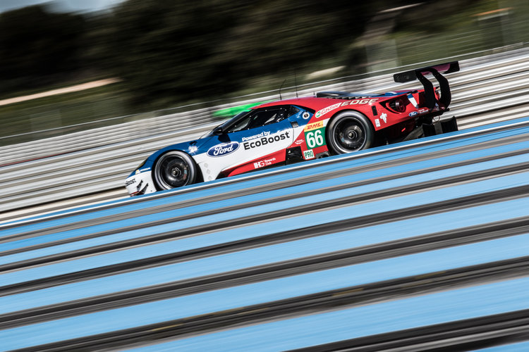 Car #66 / FORD CHIP GANASSI TEAM UK / USA / Ford GT / Billy Johnson (USA) / Stefan MŸcke (DEU) / Olivier Pla (FRA) - WEC Prologue at Circuit Paul Ricard - Le Castellet - France  -