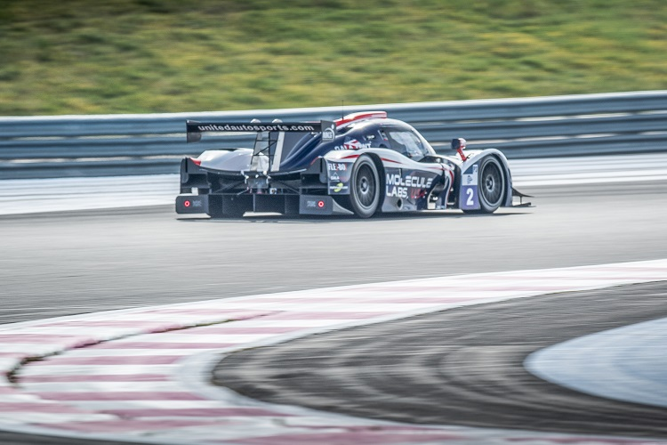 Car #2 / UNITED AUTOSPORTS / USA / Ligier JS P3 - Nissan / Alex Brundle (GBR) / Michael Guasch (USA) - ELMS Official Test at Circuit Paul Ricard - Le Castellet - France  -