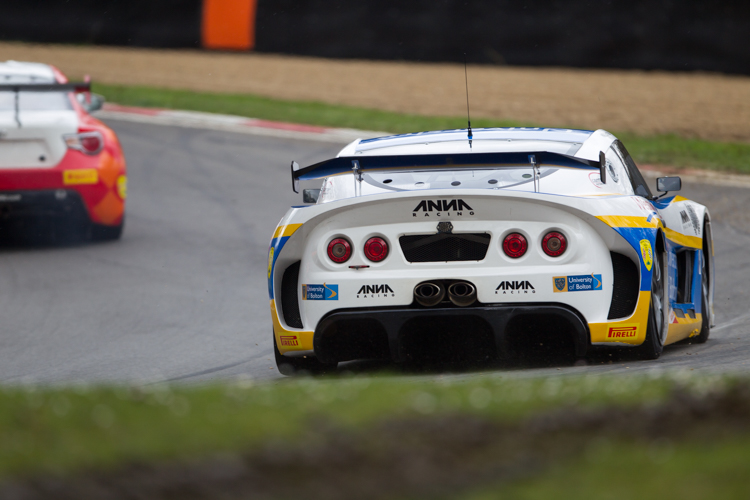 The University of Bolton capitalised on practice pace to score GT4 pole (Credit: Nick Smith/TheImageTeam.com)