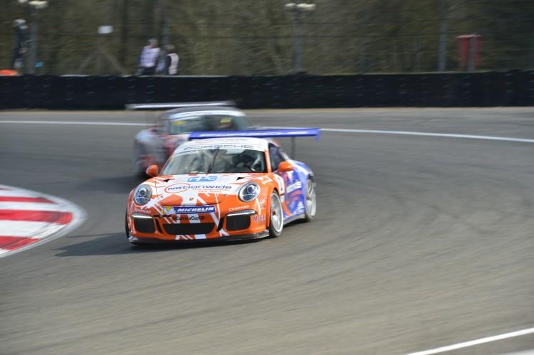 Porsche Carrera Cup, Brands Hatch, 2 April 2016  Photo: James Lipman