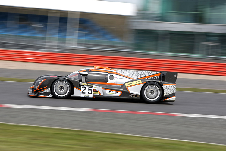 The Ginetta G57 of Sir Chris Hoy and Michael Munemann.