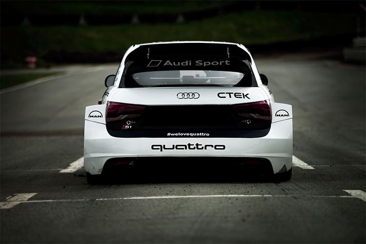 Audi R1 EKS RX quattro - Credit: EKS RX