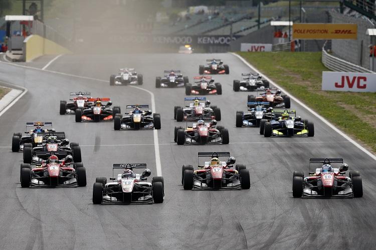 FIA Formula 3 European Championship 2016, round 2, race 1, Hungaroring (HUN)