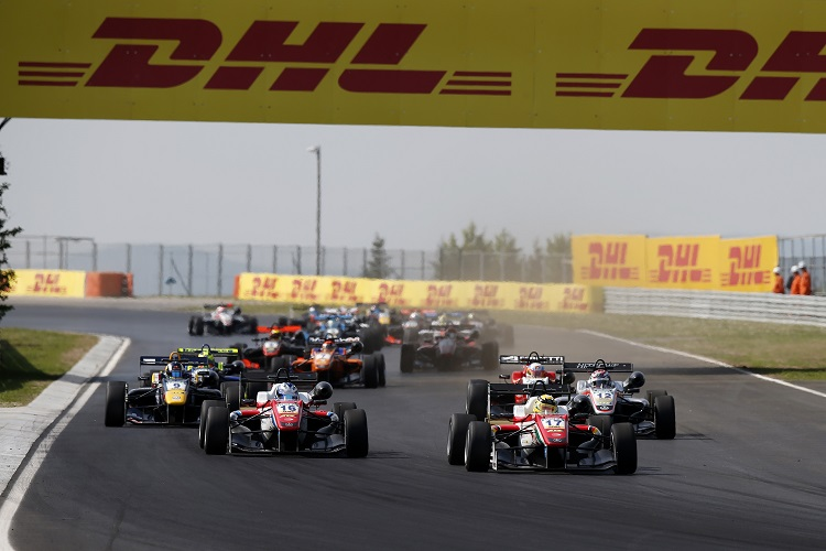 FIA Formula 3 European Championship 2016, round 2, race 2, Hungaroring (HUN)