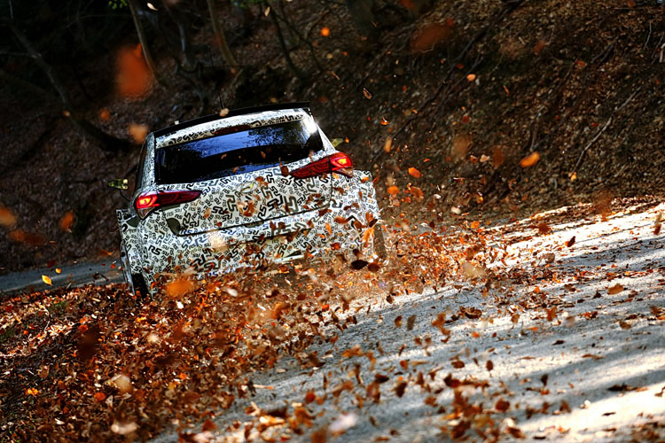 Kevin Abbring and Seb Marshall testing the Hyundai New Generation i20 R5 - Credit: Hyundai Motorsport