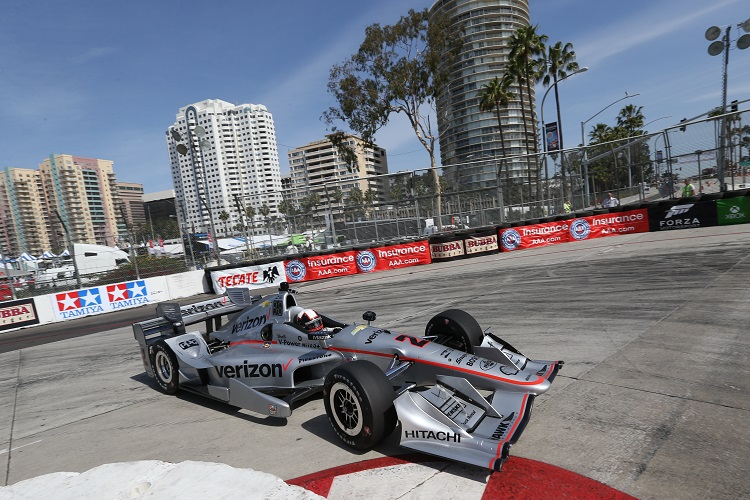 ... Toyota Grand Prix of Long Beach on Friday as Team Penske once again