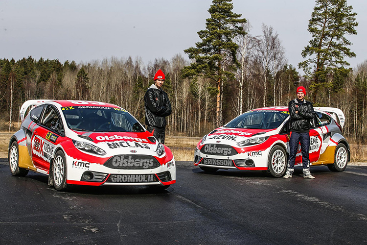 Olsbergs MSE unveil 2016 WRX livery as Gronholm and Eriksson go head-to-head