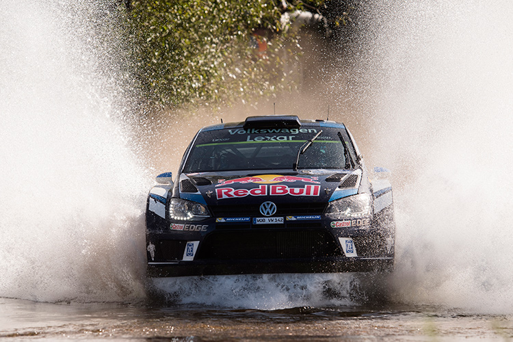 A stunning SS17 victory wasn't enough for reigning champion Ogier - Credit: Jaanus Ree/Red Bull Content Pool