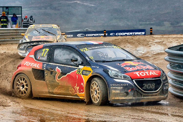 Davy Jeanney in action - Credit: @World / Red Bull Content Pool