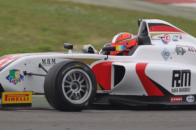 Raul Guzman Marchina (DR Formula,Tatuus F.4 T014 Abarth #41)    Credit: ACI Sport