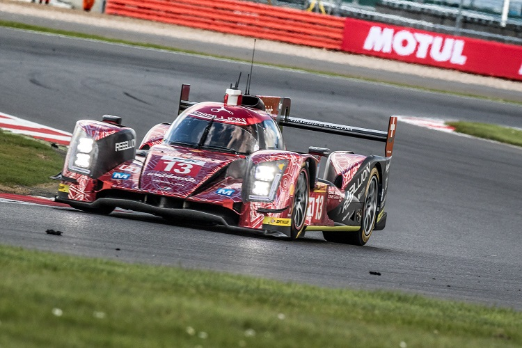 Car # 13 / REBELLION RACING / CHE / Rebellion R-One - AER / MathŽo Tuscher (CHE) / Dominik Kraihamer (AUT) / Alexandre Imperatori (CHE) - WEC 6 Hours of Silverstone - Silverstone Circuit - Towcester, Northamptonshire - UK