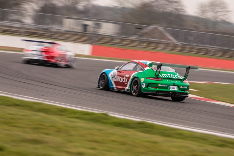 Sharp is a Carrera Cup GB winner, could he become champion? (Credit: Richard Pardon)