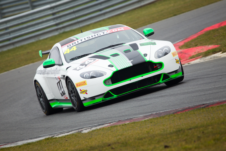 The Generation AMR SuperRacing Vantage at media day (Credit: Nick Smith/TheImageTeam.com)