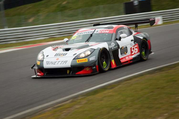 Tolman will race the Ginetta GT3 this season (Credit: Nick Smith/TheImageTeam.com)