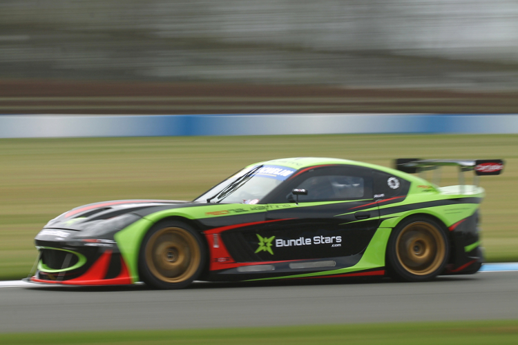 Wrigley Was Second Quickest In His Newly-Liveried G55 - Credit: Jakob Ebrey Photography