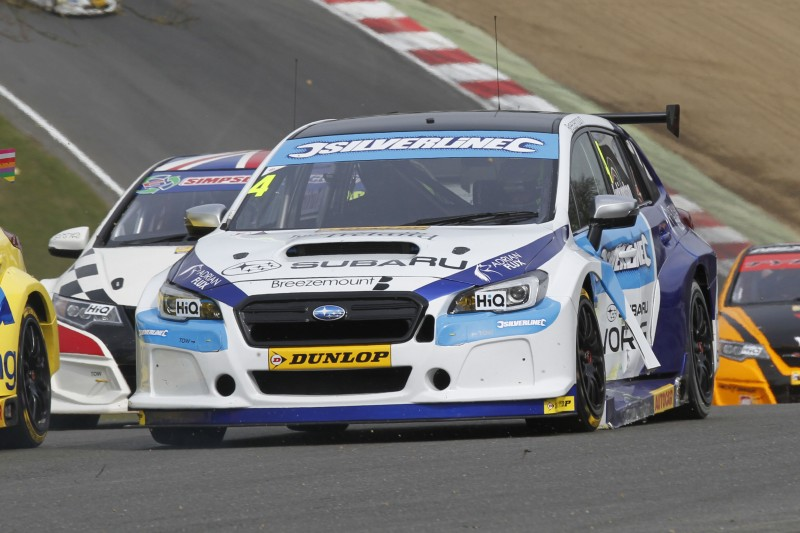 Turkington recovered from race one incident (Photo: BTCC Media)