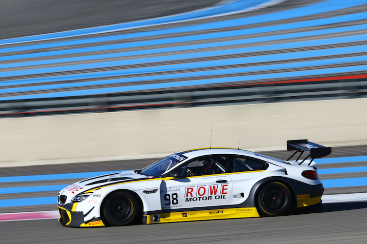 ROWE Racing will have a strong line-up in 2016 (Credit: Olivier Beroud/Vision Sport Agency)