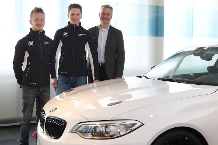 BMW Motorsport Junior Program, Munic - INTERNE BILDER