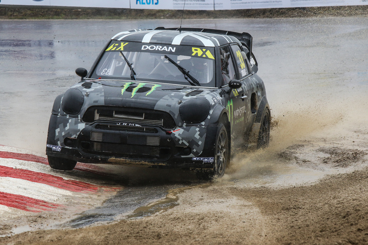 Liam Doran in the Monster Energy JRM Mini RX - Credit: FIA World Rallycross Championship / IMG