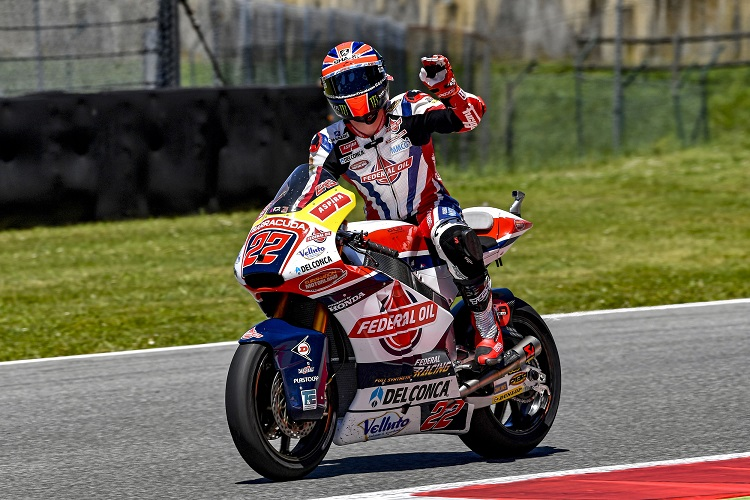 Sam Lowes - Photo Credit: Federal Oil Gresini Moto2