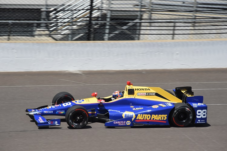 Alexander Rossi - Credit: Jim Haines / IndyCar