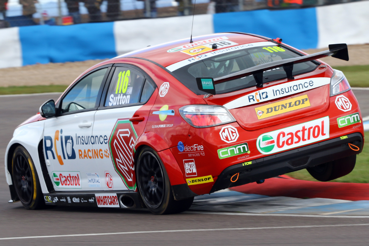 Reigning Champion Sutton Is The Latest Clio Graduate To Make An Impact In The BTCC - Credit: BTCC Media