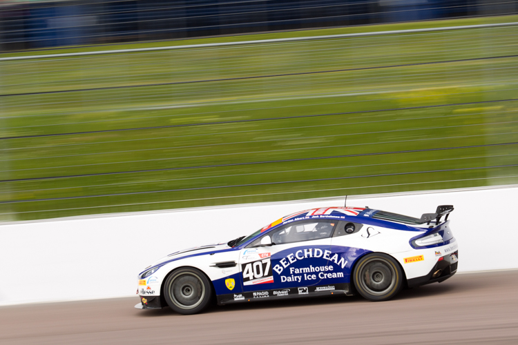 Beechdean inherited GT4 victory after a penalty for Century Motorsport (Credit: Nick Smith/TheImageTeam.com)
