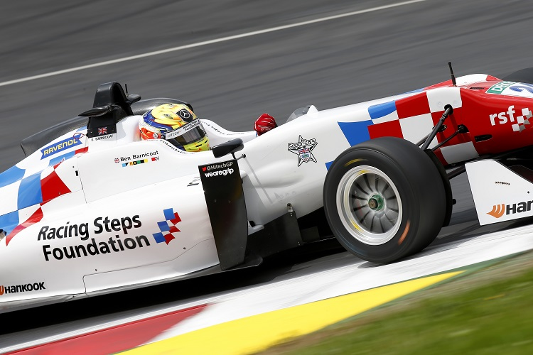 Ben Barnicoat - Credit: FIA Formula 3 European Championship / Thomas Suer